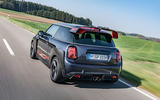Mini JCW GP 2020 road test review - hero rear