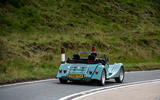 Morgan Plus Four 2020 road test review - hero rear