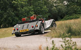 Morgan Plus Six 2019 road test review - hero rear