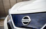 Nissan Leaf 2018 UK review front bumper
