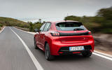 Peugeot 208 2020 road test review - hero rear