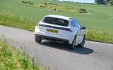 Peugeot 508 SW Hybrid 2020 road test review - hero rear