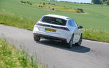 Peugeot 508 SW Hybrid 2020 road test review - hero rear