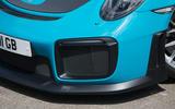Porsche 911 GT2 RS 2018 road test review front grille