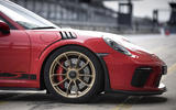 Porsche 911 GT3 RS 2018 review front end