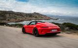 Porsche 911 Speedster 2019 review - hero rear