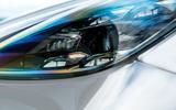 Porsche Cayenne Turbo 2018 road test review headlights