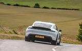 Porsche Taycan 2020 road test review - hero rear