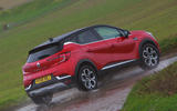 Renault Captur 2020 road test review - hero rear