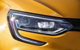 Renault Megane RS 280 2018 road test review headlights