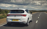 Seat Leon 2020 road test review - hero rear