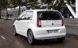 SKoda Citigo-e IV 2020 road test review - hero rear