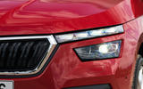 Skoda Kamiq 2019 road test review - headlights