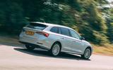 Skoda Octavia Estate 2020 road test review - hero rear
