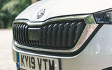 Skoda Scala 2019 road test review - front bumper