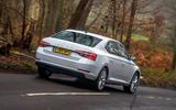 Skoda Superb iV 2020 road test review - hero rear