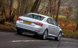 Skoda Superb iV 2020 road test review - hero rear