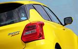 Suzuji Swift Sport Japan-spec review rear lights