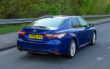 Toyota Camry 2019 review - hero rear