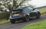 3 Toyota GR Yaris 2021 UK road test review hero rear