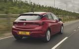 Vauxhall Astra 2019 road test review - hero rear