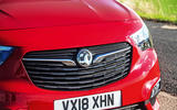 Vauxhall Combo Life 2018 road test review - front end