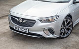 Vauxhall Insignia Sports Tourer GSI review front bumper