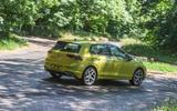 Volkswagen Golf 2020 road test review - hero rear