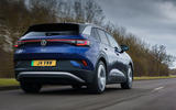 3 volkswagen id 4 2021 uk first drive review hero rear