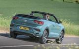 Volkswagen T-Roc Cabriolet 2020 road test review - hero rear
