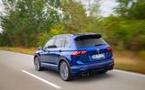 Volkswagen Tiguan R road test review - hero rear