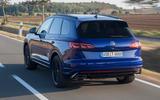 Volkswagen Touareg R road test review - hero rear