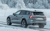 Volvo V60 Cross Country 2019 road test review - hero rear