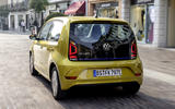 Volkswagen e-Up 2020 road test review - hero rear
