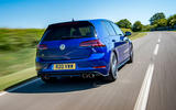 Volkswagen Golf R 2019 road test review - hero rear