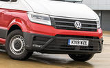 Volkswagen Grand California 2020 road test review - front end