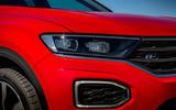 Volkswagen T-Roc 2019 road test review - headlights