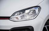 Volkswagen Up GTI 2018 review headlights