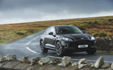 Aston Martin DBX 2020 road test review - cornering front