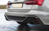 Audi RS6 Avant 2020 road test review - exhausts