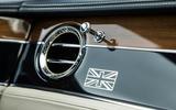 Bentley Continental GT 2018 Autocar road test review air vents