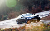 BMW 8 Series Coupé 2019 road test review - cornering front