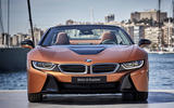 BMW i8 Roadster 2018 review static face