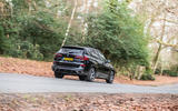 BMW X5 2018 road test review - cornering rear