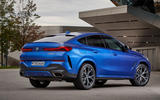 BMW X6 M50i 2019 road test review - static rear