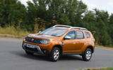 Dacia Duster 2018 road test review on the road side