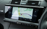 DS 7 Crossback 2018 road test review infotainment satnav