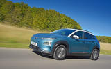 Hyundai Kona Electric 2018 road test review - on the road front