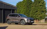 Hyundai Santa Fe 2019 road test review - static