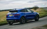 Jaguar E-Pace review action rear